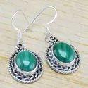 Ruby Gemstone 925 Sterling Silver Jewelry Designer Earring