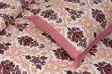 Elegant Print Cotton Double Bedsheet