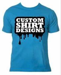 Round Neck Cotton T-shirt