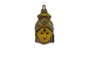 Amman Devi Face Decorated 8 Inches