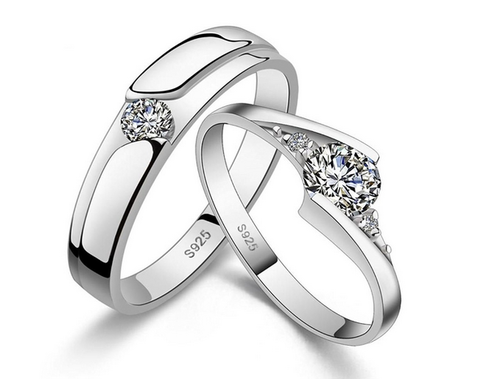 half cut platinum eternity p channel brilliant ring round set rings