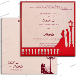 Christian Wedding Card At Best Price In India