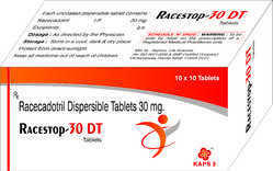 Racecadotril Dispersible Tablets