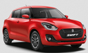 Red Maruti Suzuki Swift Car
