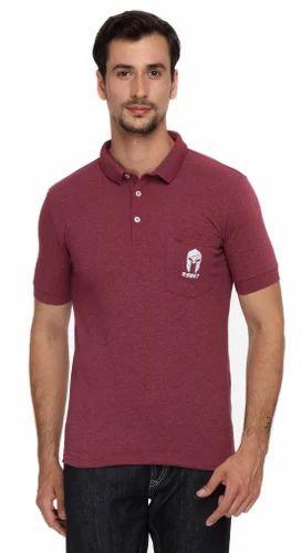 7376f760 Zsolt Cotton Plain Polo T Shirts For Men, Size: Medium, Rs 120 ...