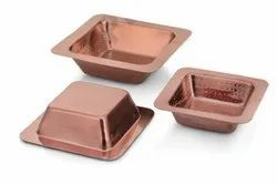 Hammered Silver Hotelware Range