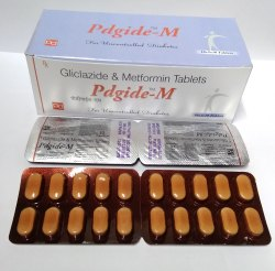 Glielazide 80 mg & Metformin HCL 500mg