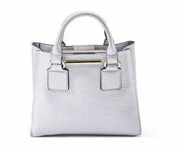 Silver Mini Handbag