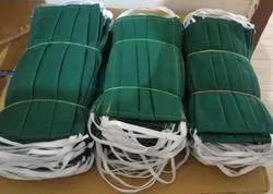Plain Dr Green 100 % Khadi Cotton Face Mask