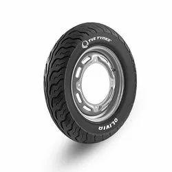 Nylon TVS Tubeless Scooter Tyre
