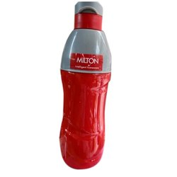 Red And Grey Tip Open Milton Kool Crony 600 Insulated Water Bottle, Capacity: 600 mL