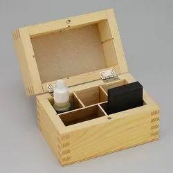 Wooden Acid Bottle Box
