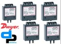 Dwyer Series 616C -8 Differential Pressure Transmitter Range 0-10 psid
