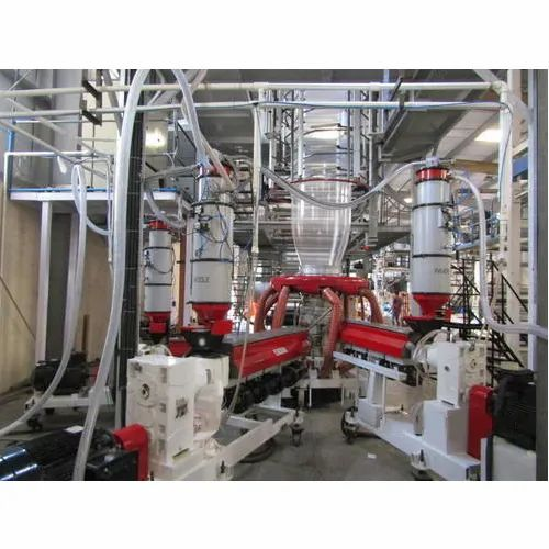 Plastic Extrusion Blown Film Line