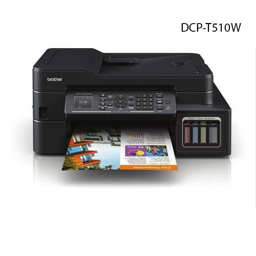 Dcp T510w All In One Brother Colour Inkjet Printer