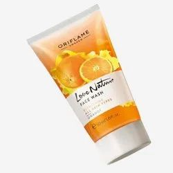 Orange Oriflame Love Nature Face Wash, Packaging Size: 50 Ml