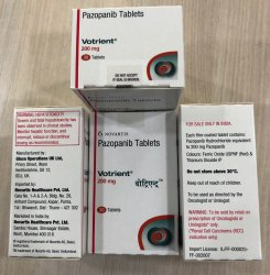 VOTRIENT 200MG TABS