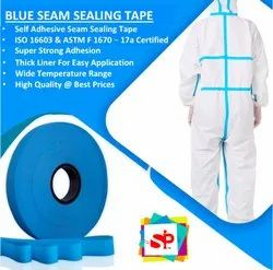 SIP 50 Meters PPE Suit Tape, Size: 1 Inch, Model No: SIP-BL-SST