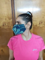 Art No- 10 Quality- Soft Fabric Mask