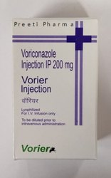 Voriconazole Vorier 200mg Injection, Single, Treatment: Fungal Infections