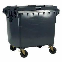 Four Wheeled Plastic Dustbin