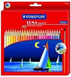 Staedtler 137 C 48 Abs Luna Water Colour Pencil , 48 Pcs Pack for Coloring