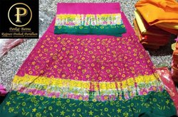 Cotton Fabric Rajputi Panting Suit