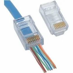 Cat 6 RJ-45 Jack with Guide