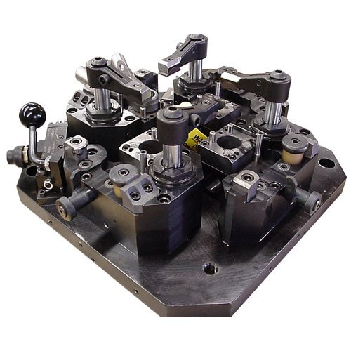 Hydraulic Clamping Machining Fixture