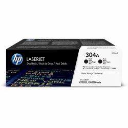 HP 304A Black Original LaserJet Toner Cartridge (CC530A)