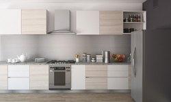 Wooden Straight Kitchen