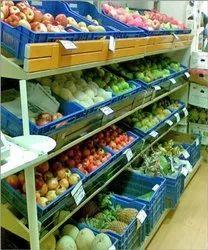 Vegetable Super Market Rack
