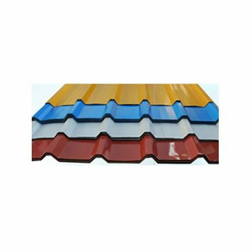 Polished Steel Roofing Sheet