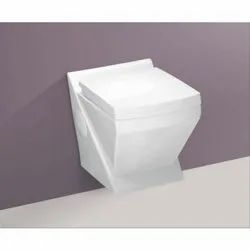 Ulixo White Ceramic Wall Hung Toilet, Size/Dimension: 538x370x415mm, Model Name/Number: Rey-2001