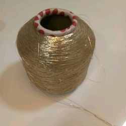 Golden Embroidery Thread