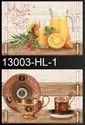 Glossy Square 10 X 15 Ceramic Digital Kitchen Wall Tiles, Thickness: 5-10 Mm