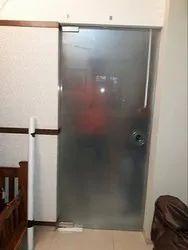 Office Glass Hinged Door