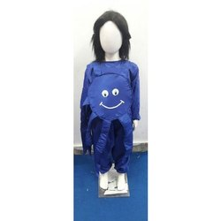 Royal Blue Polyester Kids Octopus Costume Dress
