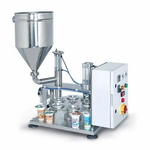 Semi-Automatic Cup Filling Machine