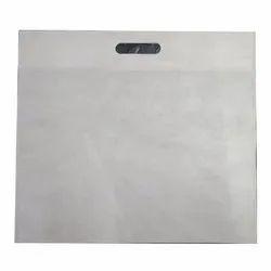 D Cut 60 GSM White Plain Bag, For Shopping