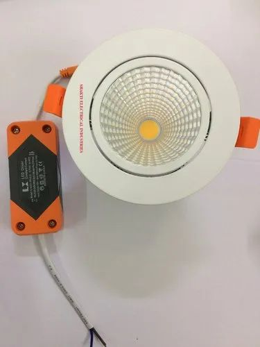 Led 9w Cob  Down Light, 160v To 270v