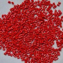 Delrin Red POM Granules