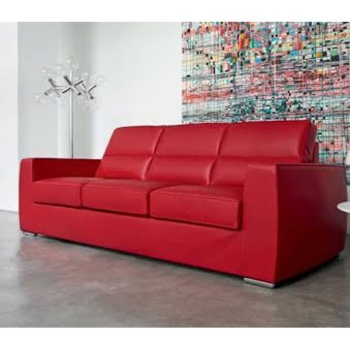 Red Leather Recliner Sofa For Home Rs 30000 Unit Ah
