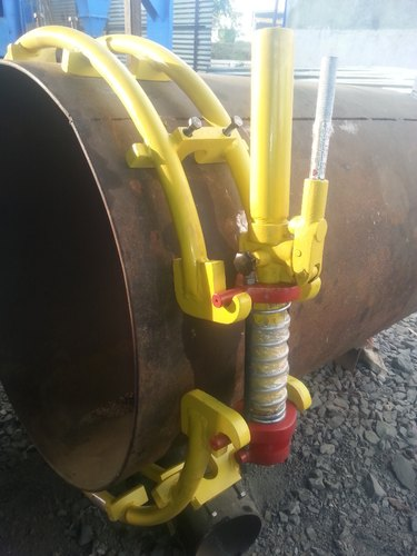 Industrial External Pipe Welding Manual Alignment Cage Clamp 8 Inch
