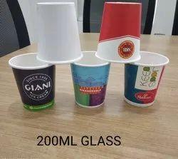Ishwara 80 200 mL Paper Glass, 275