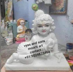 Bal Gopal Krishna Marble Statue