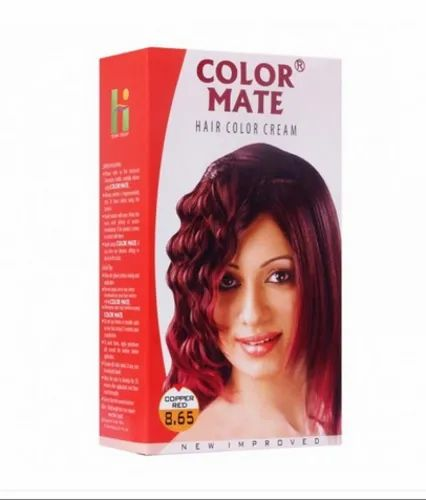Color Mate Copper Red Hair Color Rs 90 Pouch Henna Industries