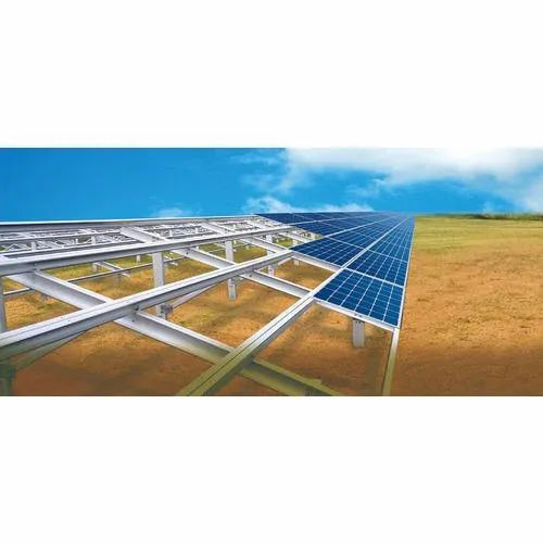 Solar Panel Structure Installation Service For Commercial and Industrial