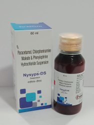 Paracetamol Chlorpheniramine Melate & Phenylephrine Hydrochloride Suspension