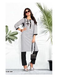 Office Wear Cotton Kurtis